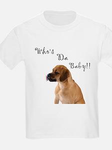 Who's da Baby? Kids T-Shirt
