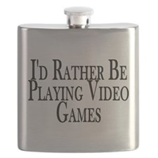 Rather Play Video Games Flask
