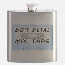 80's Mix Tape Flask