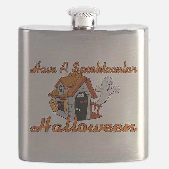 Spooktacular Halloween Flask