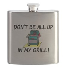 All Up In My Grill Flask