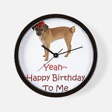Happy Birthday to me Wall Clock
