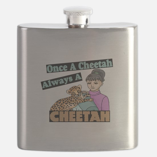 Once A Cheetah Flask