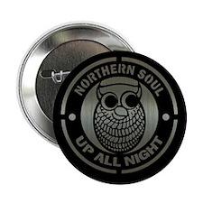 """Retro northern soul aluminium 2.25"""" Button"""