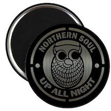Retro northern soul aluminium Magnet