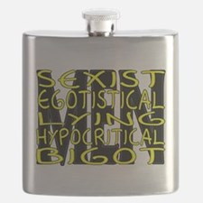 Hypocritical Bigot Flask