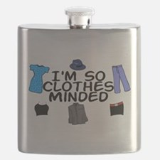 Clothes Minded Flask