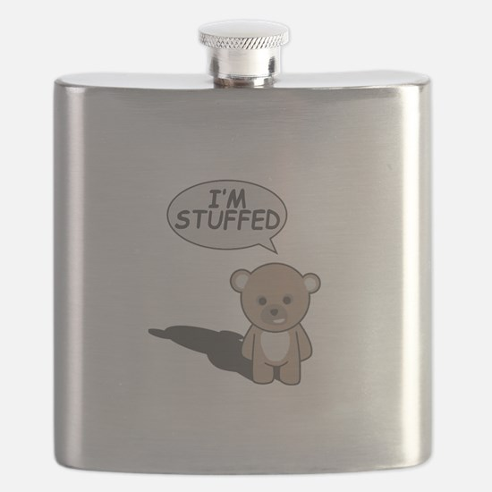 Teddy Stuffed Flask