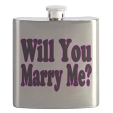 Cute Will you marry me Flask