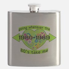 Going With The 80's Flask