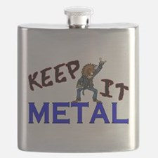 Keep It Metal Flask