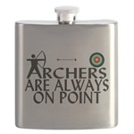 Archers On Point Flask