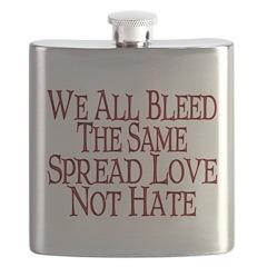 We All Bleed Flask