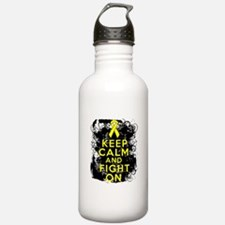 Ewings Sarcoma Keep Calm Fight On Water Bottle