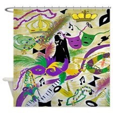 Mardi Gras Party Shower Curtain