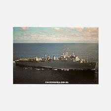 USS PENSACOLA Rectangle Magnet