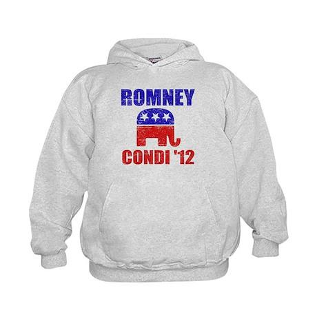 Romney Condi 2012 Kids Hoodie