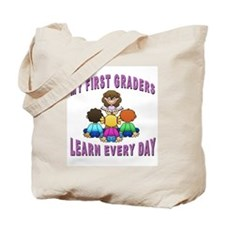 First Grade Learners Tote Bag