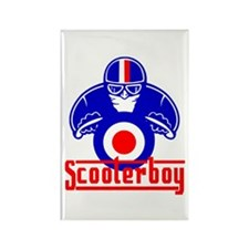 Scooter Boy race Rectangle Magnet