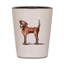Lets Play Chessie Shot Glass