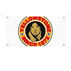 Yellowstone Gold Circle Banner
