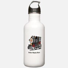 Personalized Train Engine Water Bottle