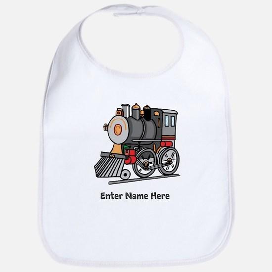 Personalized Train Engine Bib