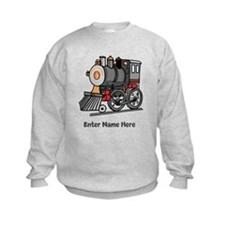 Personalized Train Engine Sweatshirt