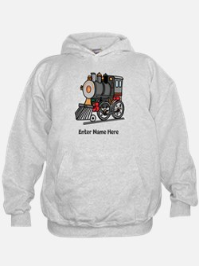 Personalized Train Engine Hoody