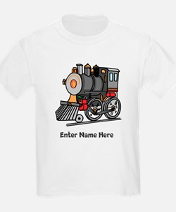 Personalized Train Engine T-Shirt