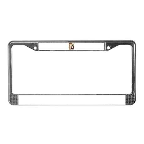 Sleeping Beauty License Plate Frame