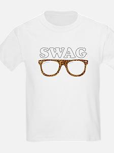 Swag leopard glasses T-Shirt