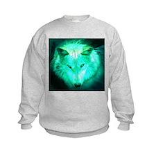 wolf glow Sweatshirt