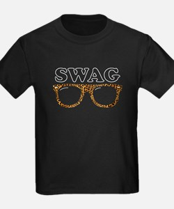 Swag leopard glasses T