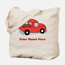Personalized Tow Truck Tote Bag