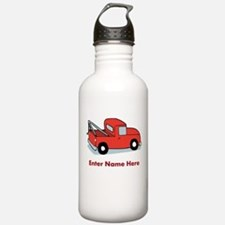 Personalized Tow Truck Water Bottle