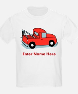 Personalized Tow Truck T-Shirt