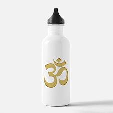 Om, Gold Water Bottle
