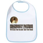 Highway Patrol Kick Ass! Bib