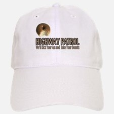 Highway Patrol Kick Ass! Baseball Baseball Cap