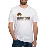 Highway Patrol Kick Ass! Fitted T-Shirt