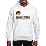 Highway Patrol Kick Ass! Hooded Sweatshirt
