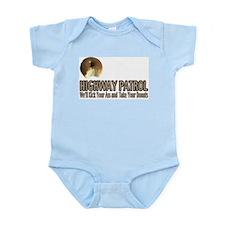 Highway Patrol Kick Ass! Infant Creeper