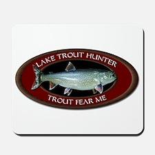 Lake Trout Fear Me Mousepad