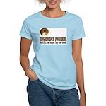 Highway Patrol Kick Ass! Women's Pink T-Shirt