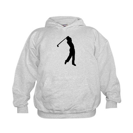 Golf player Kids Hoodie