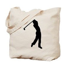 Golf player Tote Bag