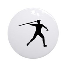 Javelin thrower Ornament (Round)