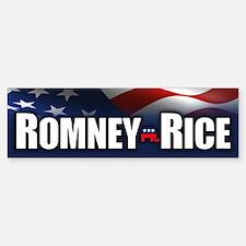 Romney Rice Bumper Bumper Bumper Sticker