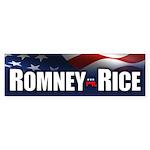 Romney Rice Bumper Sticker